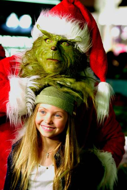Taylor Momsen was the cute girl in The Grinch