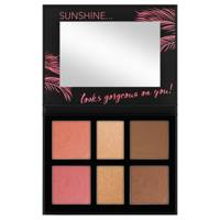 Catrice Aloha Sunsets Everyday 6 Colour Face And Cheek Palette