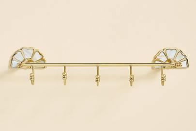 Wall hanging jewellery rack
