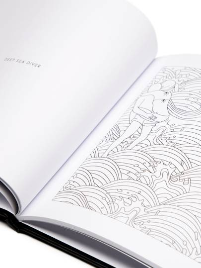 Fill Me In Adult Colouring Book, £18