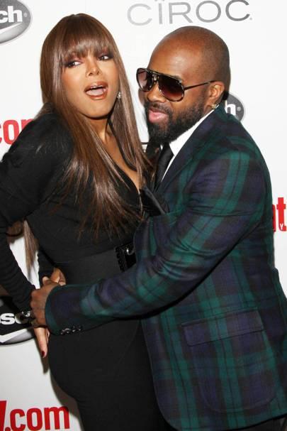28. Janet Jackson and Jermaine Dupri