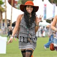 Vanessa Hudgens at Coachella 2012