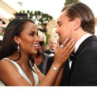 Kerry Washington & Leonardo DiCaprio