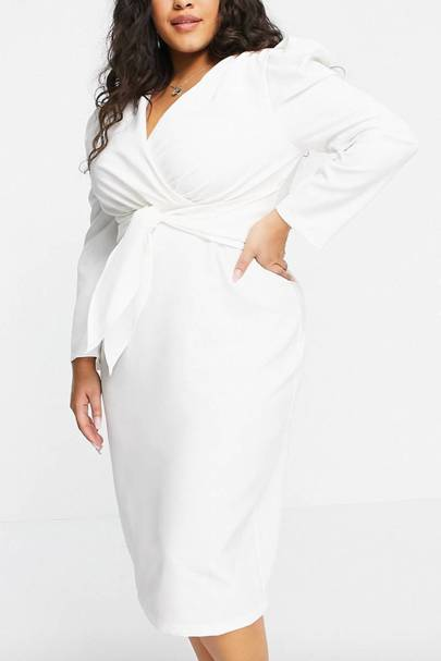 Best White Bridesmaid Dresses - Size 18-28