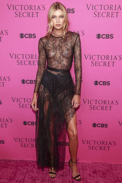 Stella Maxwell at the Victoria's Secret Fashion Show