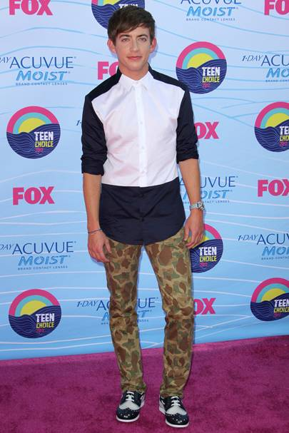 Kevin McHale at the Teen Choice Awards 2012