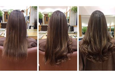 Bonded extensions damage hair