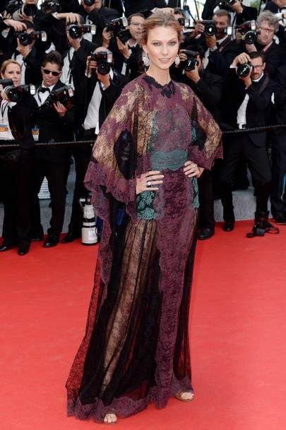 Karlie Kloss - Cannes 2014