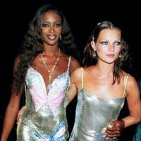 Naomi Campbell and Kate Moss in 1999