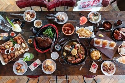 The major menu: Big Easy, Covent Garden