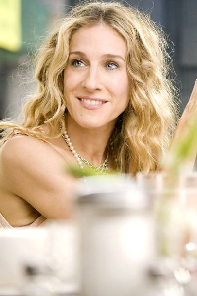 Carrie Bradshaw in SATC