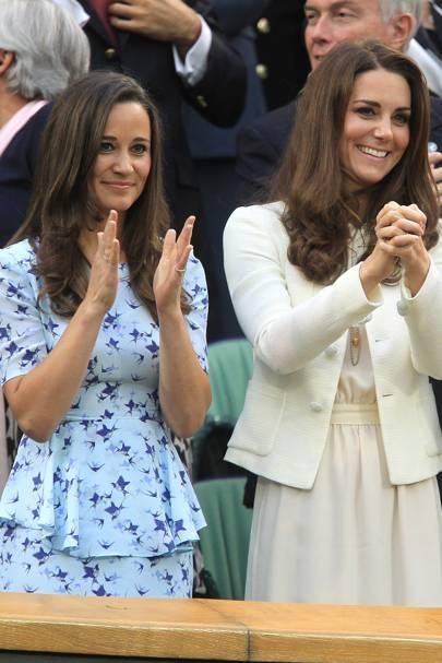 Pippa & Kate Middleton
