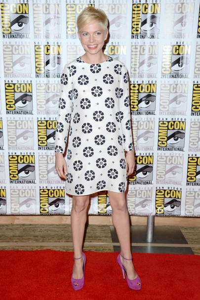 Michelle Williams at Comic-Con 2012
