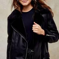 Topshop's Black Friday Sale: The aviator jacket