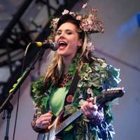 Kate Nash performs at Bestival 2012