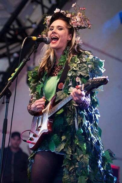 Kate Nash performs at Bestival 2012