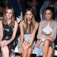 Laura Carmichael, Harley Viera Newton and Amber Le Bon