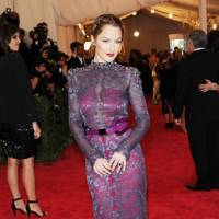 Minka Kelly at the Met Gala