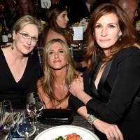 Meryl Streep, Jennifer Aniston & Julia Roberts