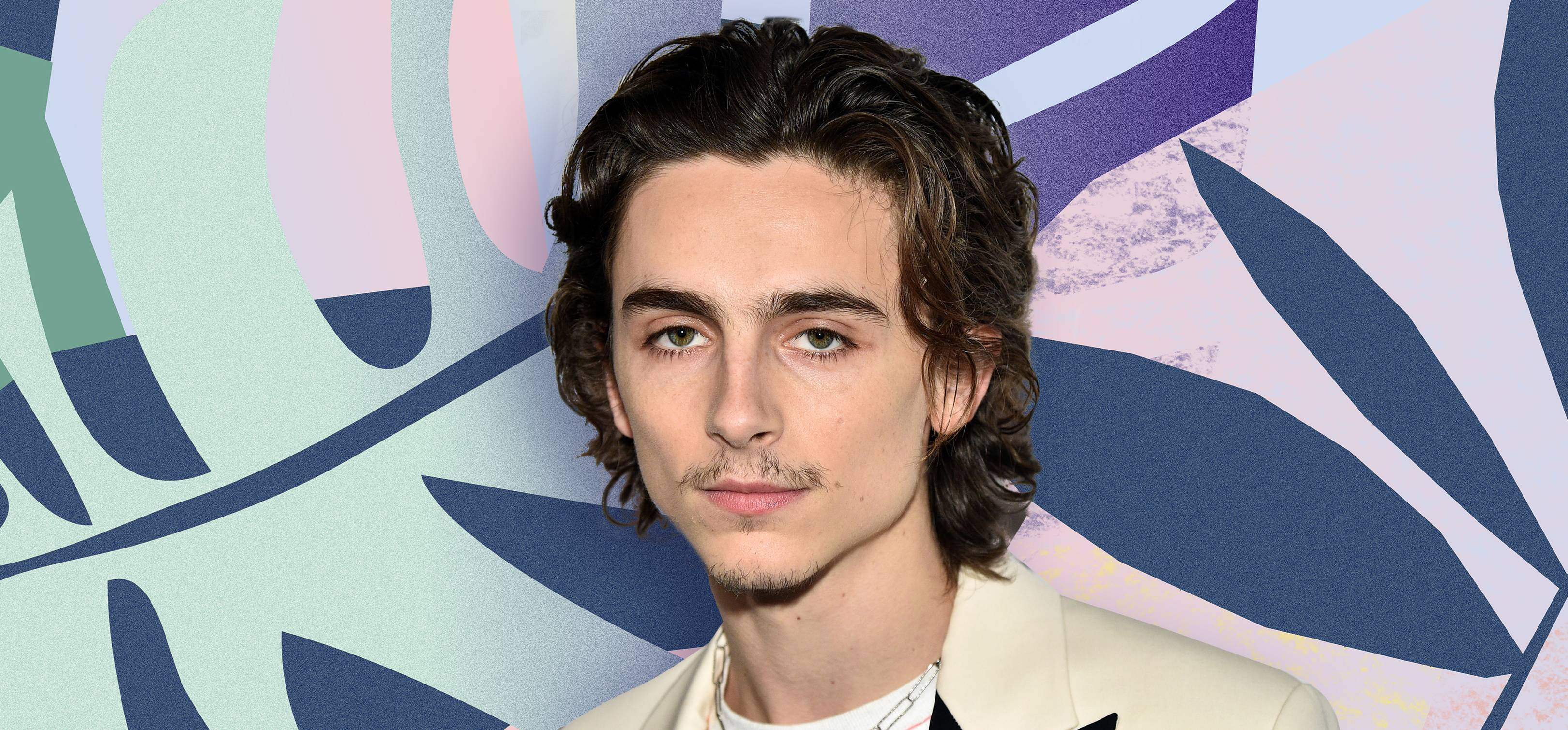 Timothée Chalamet has a moustache that's divided the internet, so which team are you on?