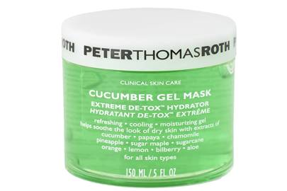 Heatwave Essentials: The Cooling Cucumber Gel Mask