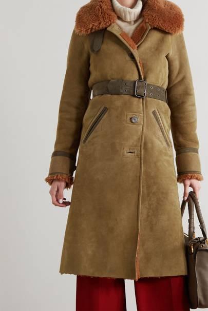 Best winter coat suede