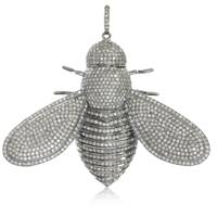 Queen Bee Charm by Del Pozzo Jewelry