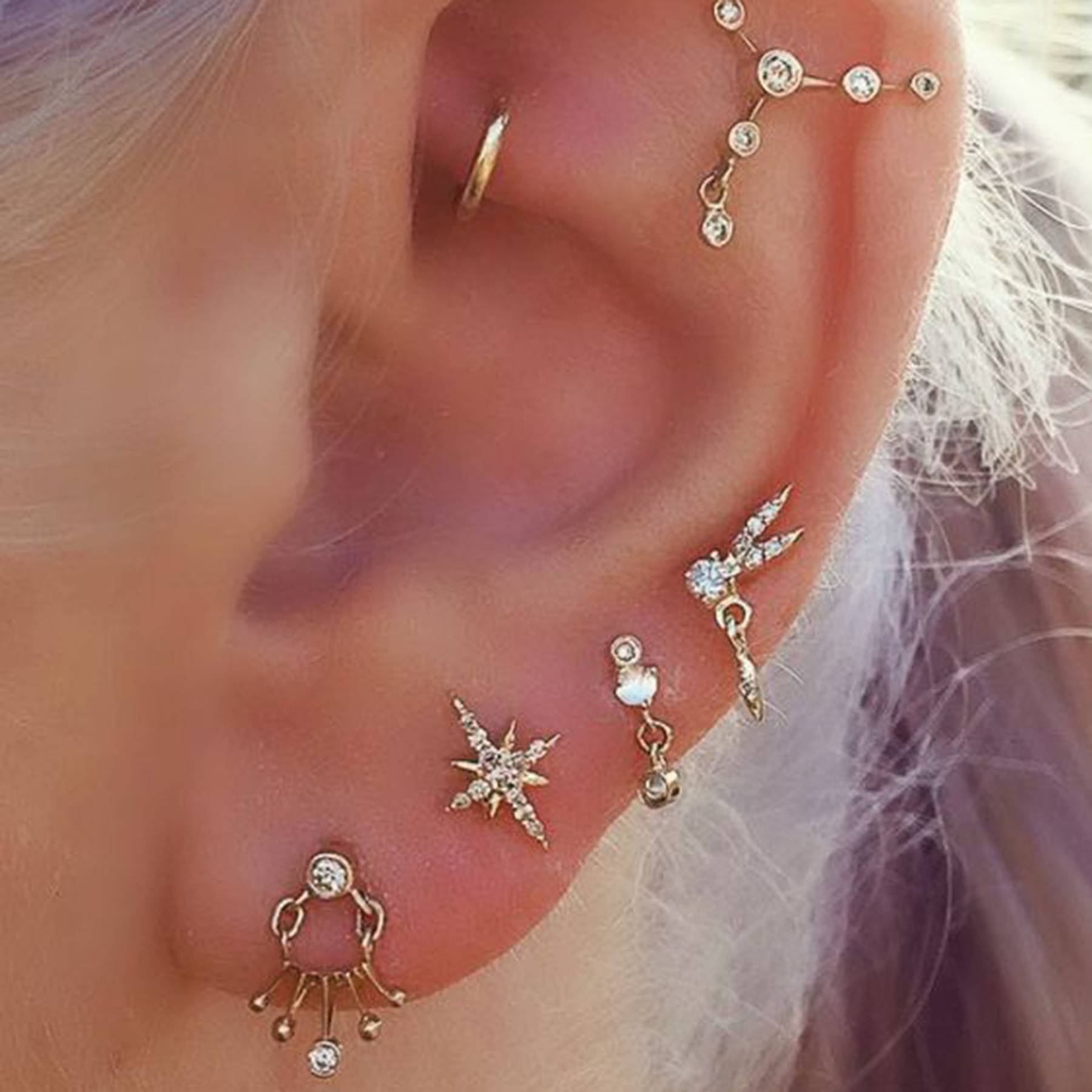 Earring Trends 2019 The Earrings That Will Be Trending This