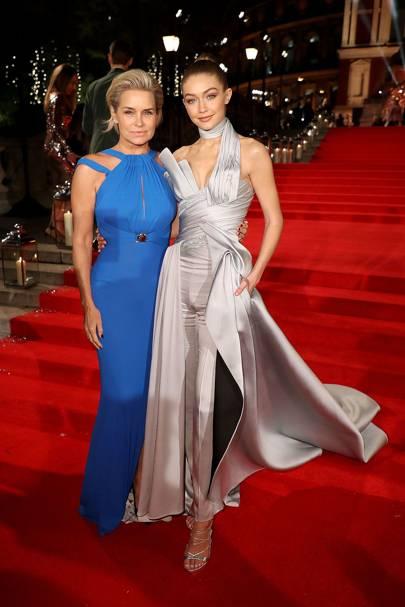 Gigi Hadid & Yolanda Hadid