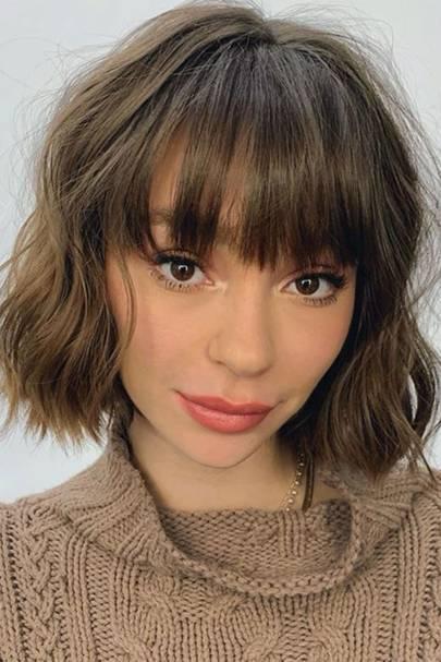 Fringe Hairstyles From Choppy To Side Swept Bangs Glamour Uk