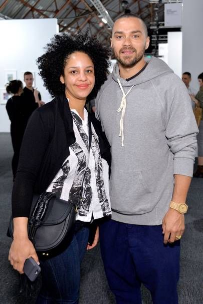April: Jesse Williams and Aryn Drake-Lee