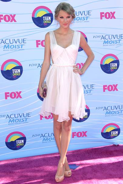 Taylor Swift at the Teen Choice Awards 2012