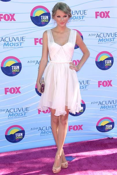Taylor Swift at the Teen Choice Awards 2012