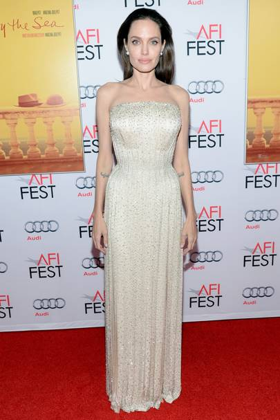 Angelina jolie red carpet dresses - photo#2