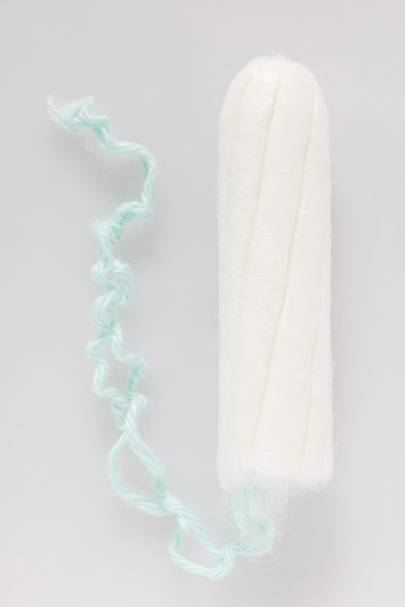 Tampons have nowhere to go...