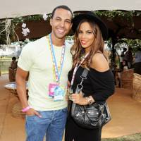 Marvin and Rochelle at V Festival