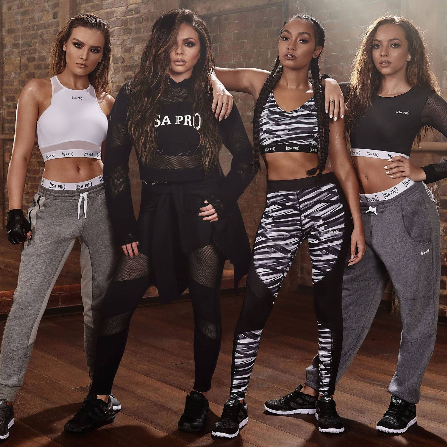 68feaf78bb Little Mix USA Pro Collection Photos Clothing Interview   Glamour UK