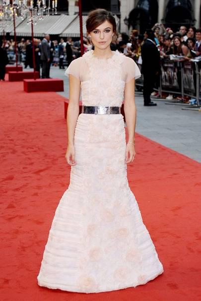 DO #4: Keira Knightley at the Anna Karenina London premiere, September