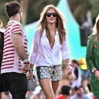 Rosie Huntington-Whiteley at Coachella