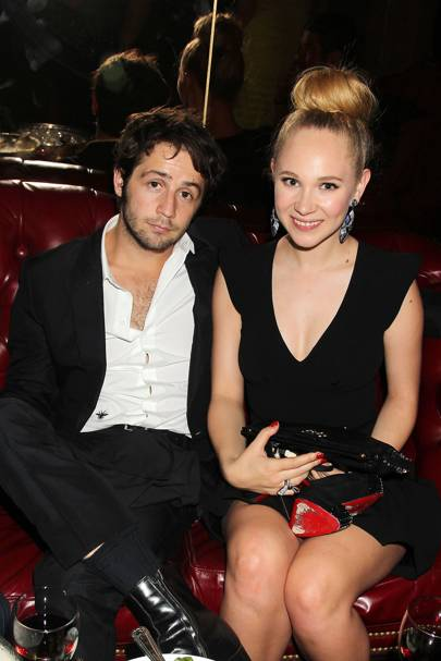 January: Juno Temple & Michael Angarano
