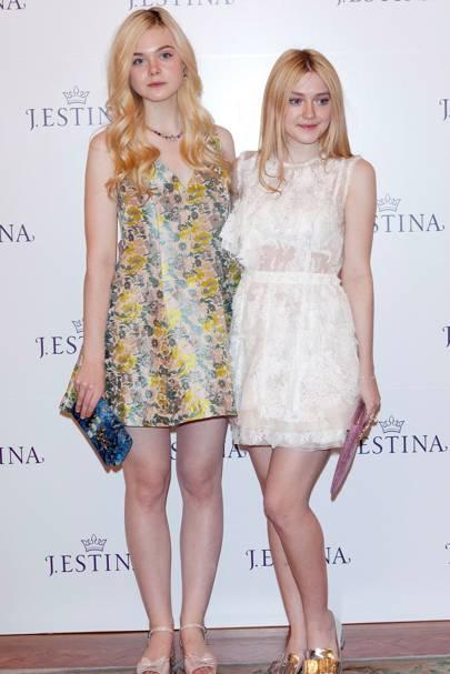 Dakota & Elle Fanning