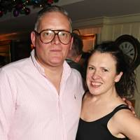 Katie Grand, stylist and editor-in-chief of LOVE, by Giles Deacon, fashion designer