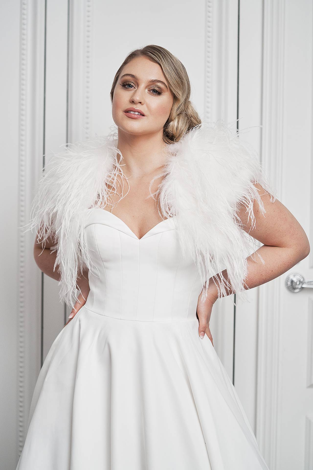 Iskra Lawrence Stars In Stunning New Bridal Campaign | Glamour UK