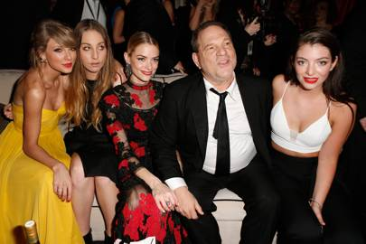 Taylor Swift, Este Haim, Jaime King, Harvey Weinstein and Lorde
