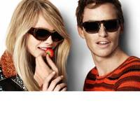 Cara Delevingne & Eddie Redmayne for Burberry