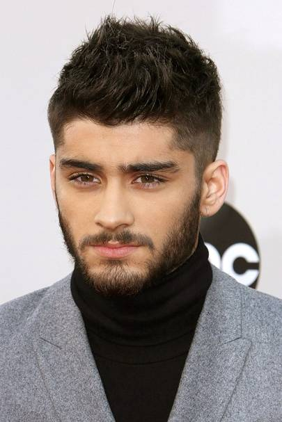 Zayn Malik Hair & Hairstyles: Blonde, Floppy, Shaved & Pink - 405x607 ...