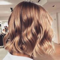 Coffee balayage hair