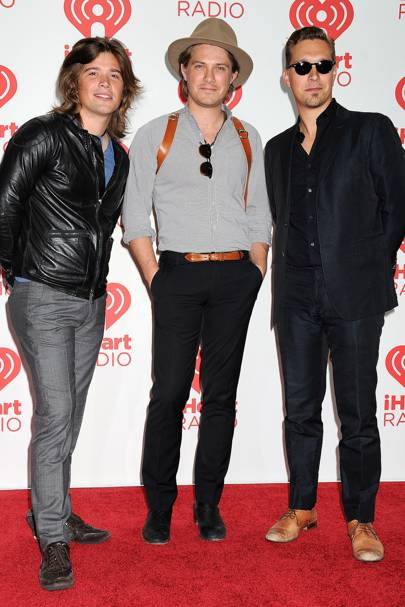 Hanson at the iHeartRadio Music Festival