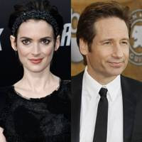 Winona Ryder and David Duchovny