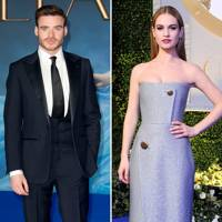 And Hollywood Disney: Lily James & Richard Madden